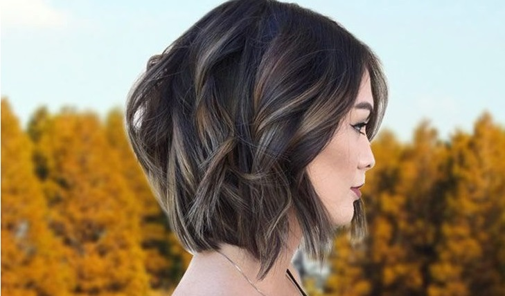 A Line Haircut For Thicker Hair